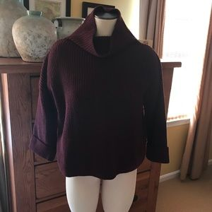 Lord and Taylor cowl neck sweater